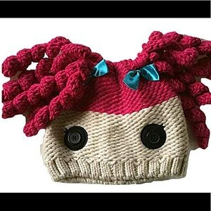 Nickelodeon Lalaloopsy Crochet Hair Knit Hat
